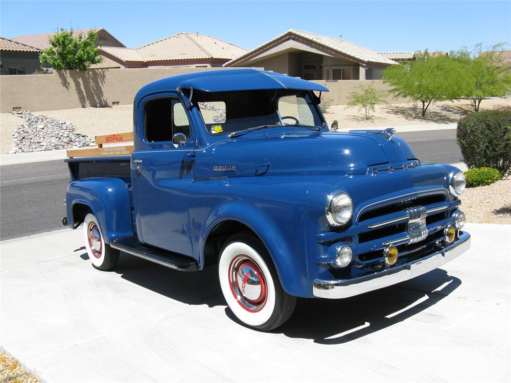 1953 DODGE JOB RATED MODEL B 1/2 TON PICKUP - Front 3/4 - 70713