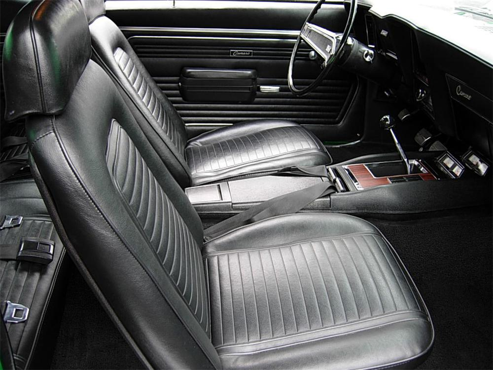 1969 CHEVROLET CAMARO SS 2 DOOR COUPE - Interior - 70723