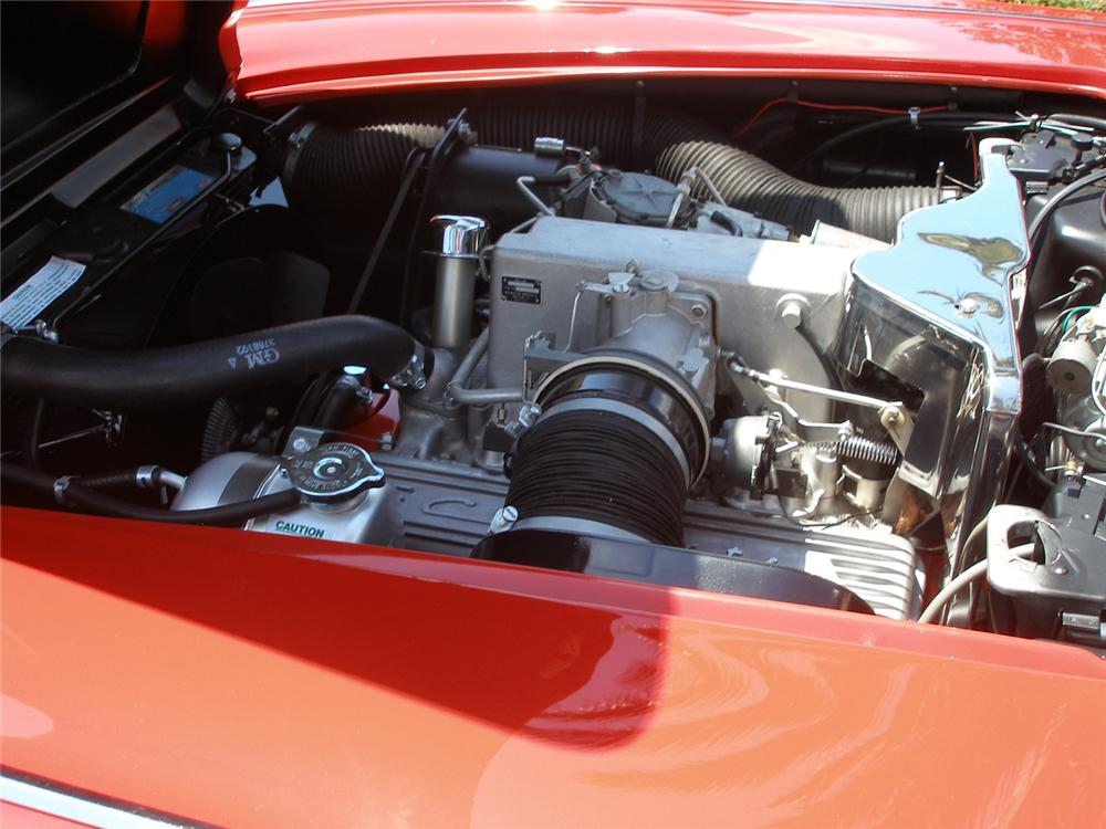 1962 CHEVROLET CORVETTE CONVERTIBLE - Engine - 70728