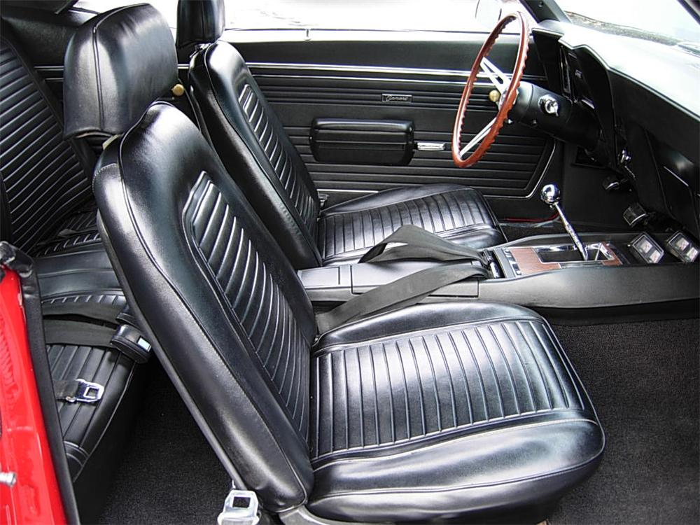 1969 CHEVROLET CAMARO Z/28 2 DOOR COUPE - Interior - 70729