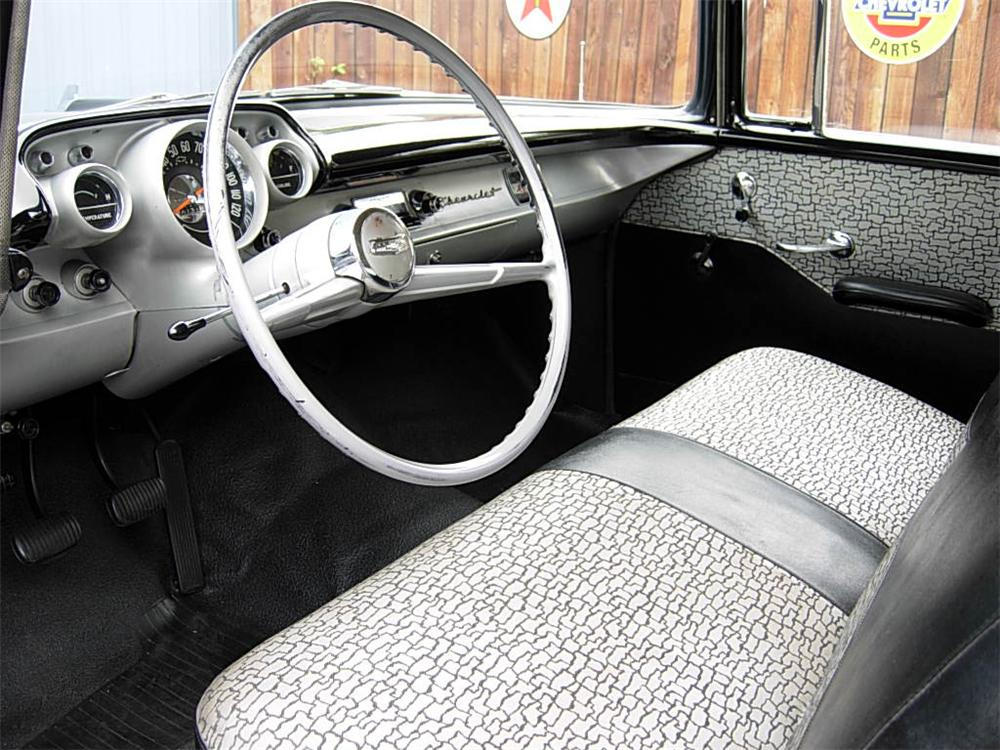 1957 CHEVROLET 150 2 DOOR SEDAN - Interior - 70731