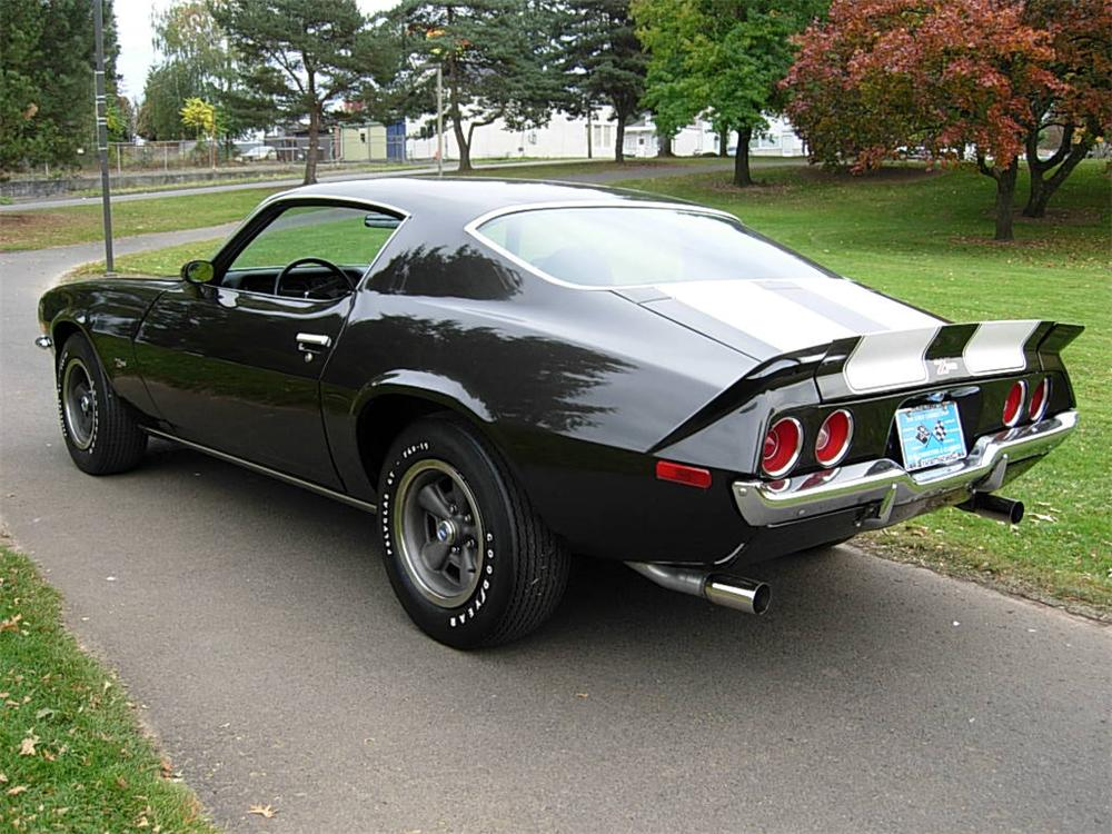 1972 CHEVROLET CAMARO Z/28 2 DOOR COUPE - Rear 3/4 - 70735