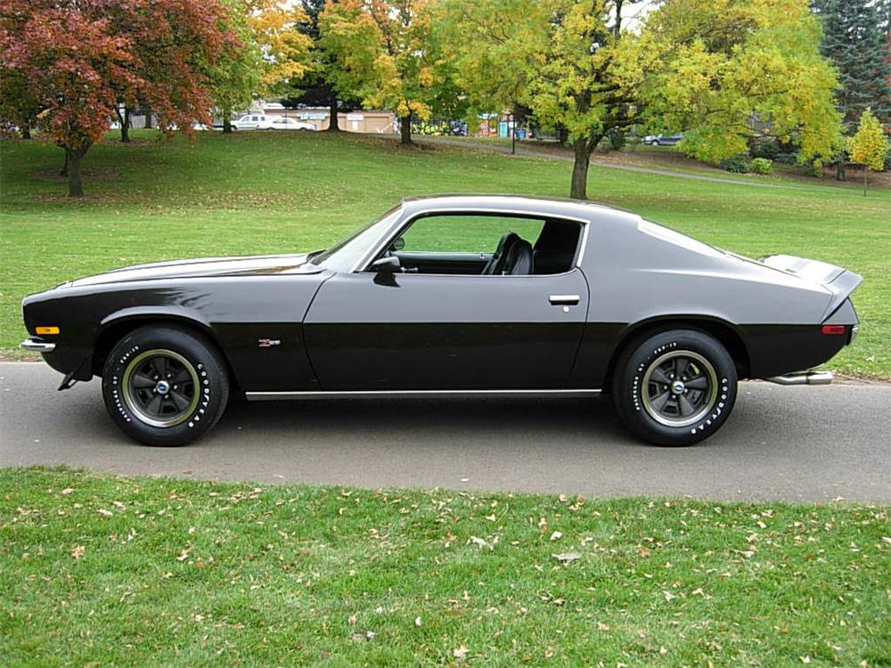 1972 CHEVROLET CAMARO Z/28 2 DOOR COUPE - Side Profile - 70735