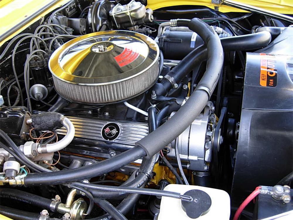 1969 CHEVROLET CAMARO RS/SS 2 DOOR COUPE - Engine - 70742