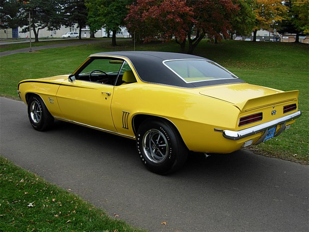 1969 Chevrolet Camaro Rs Ss 2 Door Coupe 70742