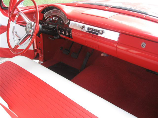 1957 FORD RANCH WAGON 2 DOOR STATION WAGON - Interior - 70744