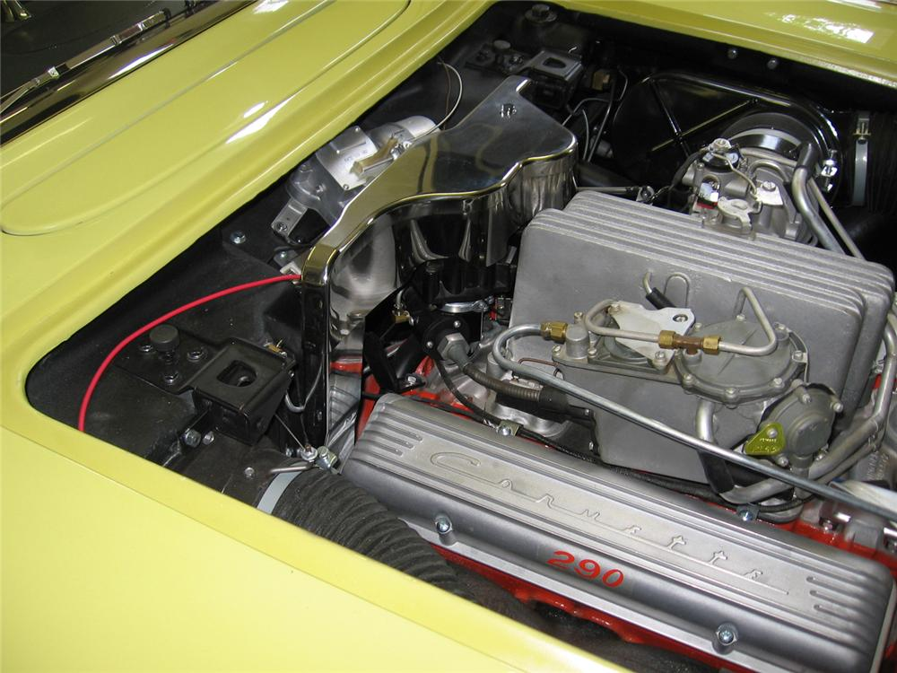 1958 CHEVROLET CORVETTE CONVERTIBLE - Engine - 70754