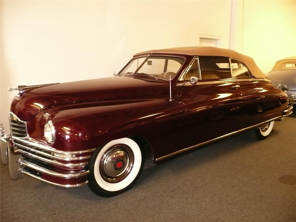 1949 PACKARD SUPER 8 VICTORIA CONVERTIBLE - Front 3/4 - 70759