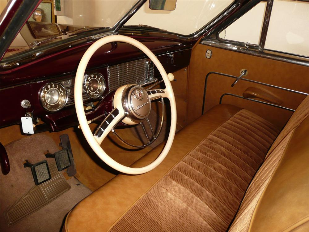 1949 PACKARD SUPER 8 VICTORIA CONVERTIBLE - Interior - 70759
