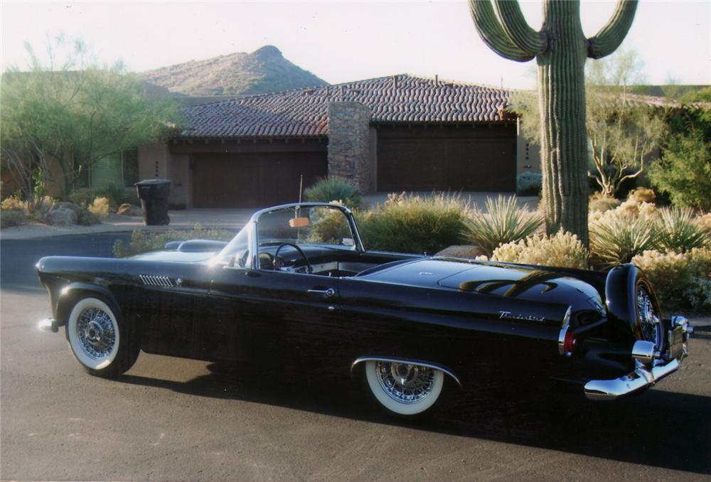 1955 FORD THUNDERBIRD CONVERTIBLE - Side Profile - 70788