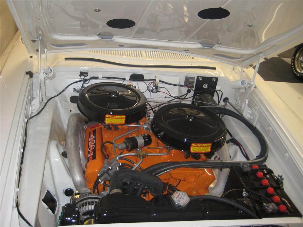 1963 PLYMOUTH SPORT FURY MAX WEDGE RE-CREATION - Engine - 70790