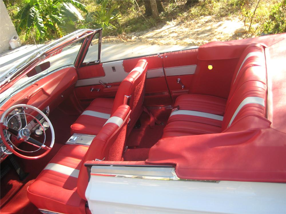 1963 PLYMOUTH SPORT FURY MAX WEDGE RE-CREATION - Interior - 70790