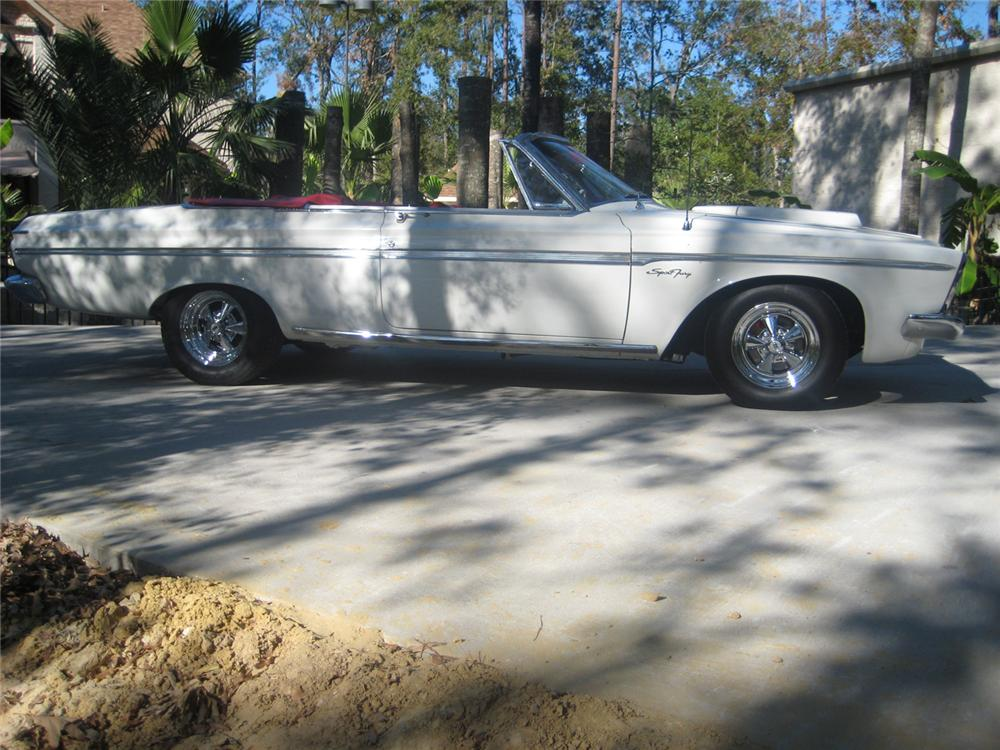 1963 PLYMOUTH SPORT FURY MAX WEDGE RE-CREATION - Side Profile - 70790