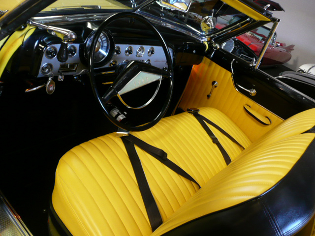 1951 FORD CUSTOM DELUXE 2 DOOR CONVERTIBLE - Interior - 70793