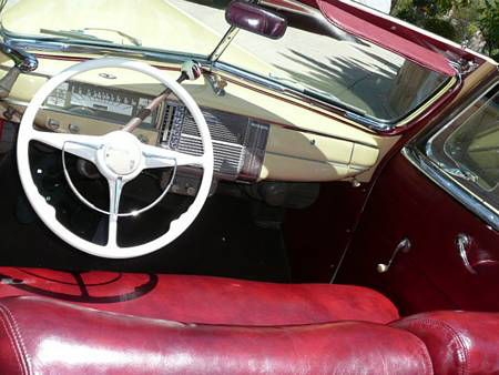 1941 PLYMOUTH SPECIAL DELUXE CONVERTIBLE - Interior - 70794