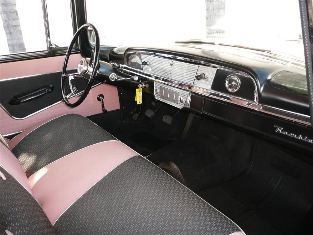 1958 RAMBLER CROSS COUNTRY STATION WAGON - Interior - 70798