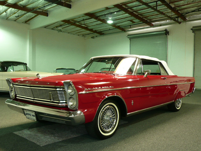 1965 FORD GALAXIE 500 XL 2 DOOR CONVERTIBLE - Front 3/4 - 70808