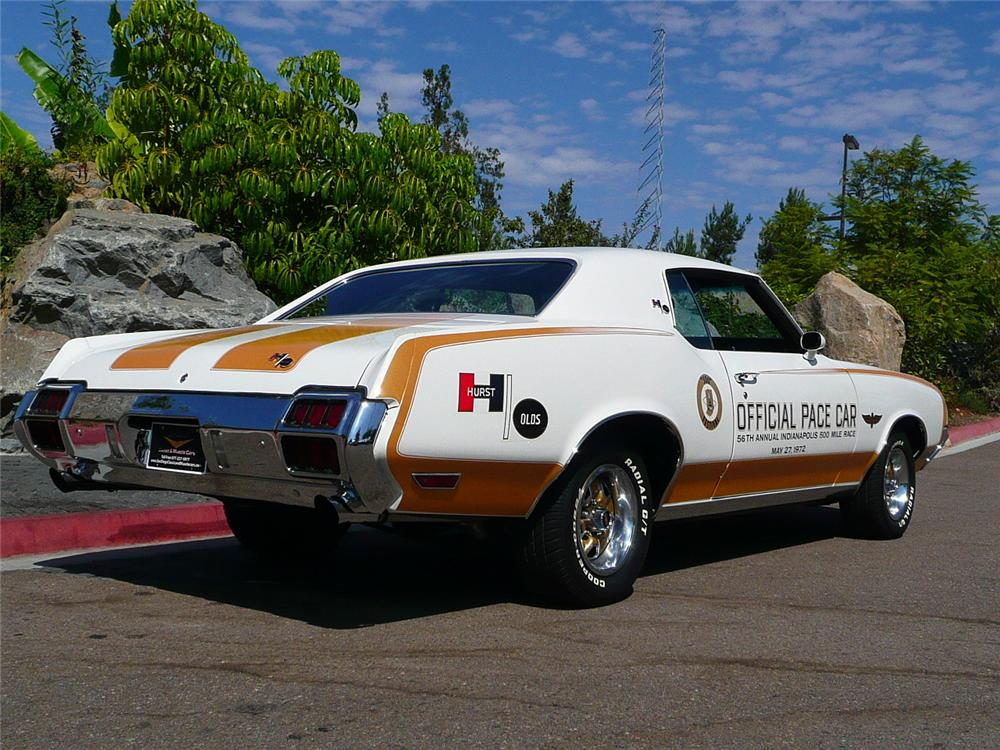 1972 OLDSMOBILE HURST PACE CAR EDITION COUPE70811