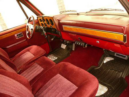 1986 CHEVROLET C-10 CUSTOM PICKUP - Interior - 70814