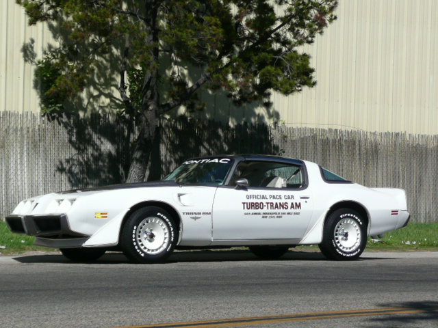 1980 PONTIAC FIREBIRD TRANS AM PACE CAR EDITION - Side Profile - 70815