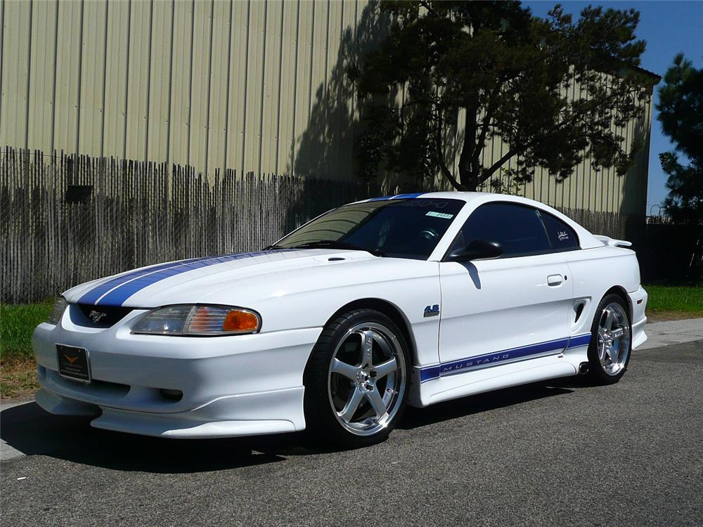 1997 FORD MUSTANG ROUSH STAGE 1 COUPE - Front 3/4 - 70816