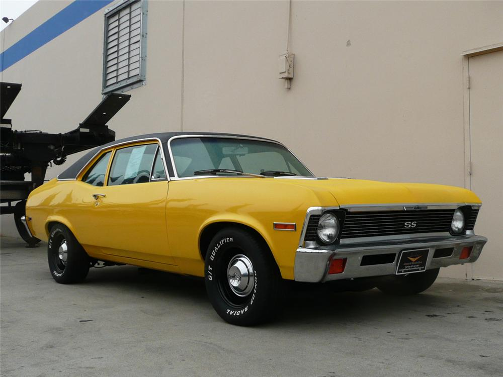 1972 CHEVROLET NOVA COUPE SS RE-CREATION - Front 3/4 - 70819