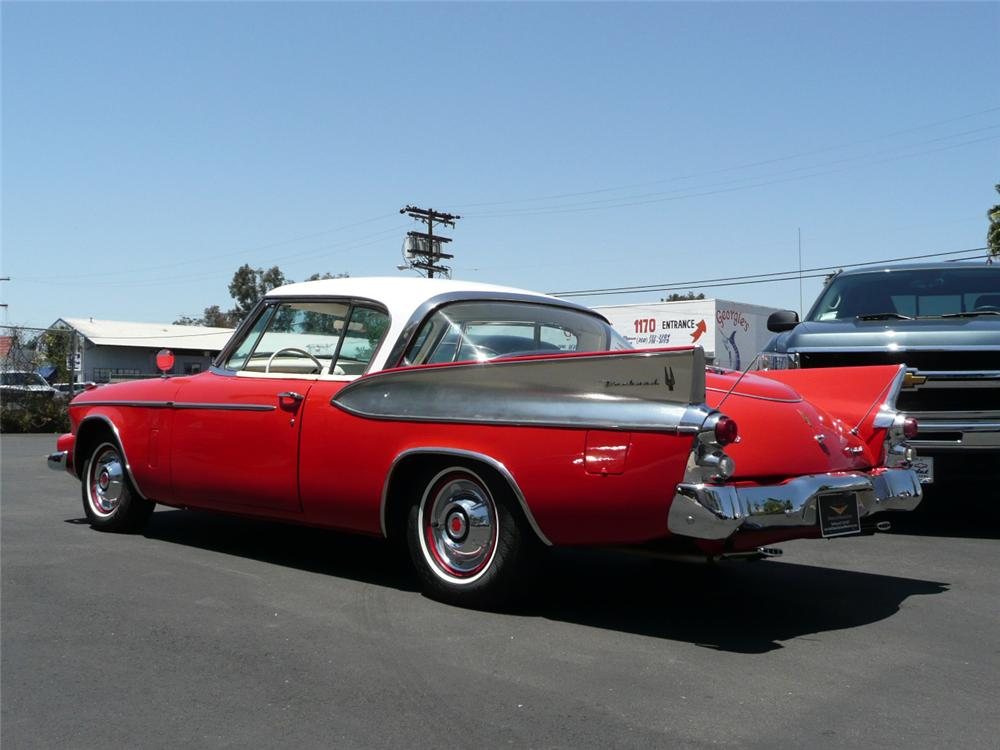 1958 PACKARD HAWK SC 2 DOOR HARDTOP - Rear 3/4 - 70820