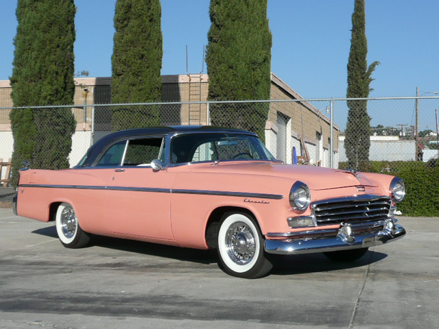 1956 CHRYSLER WINDSOR LIMITED EDITION COUPE - Front 3/4 - 70822