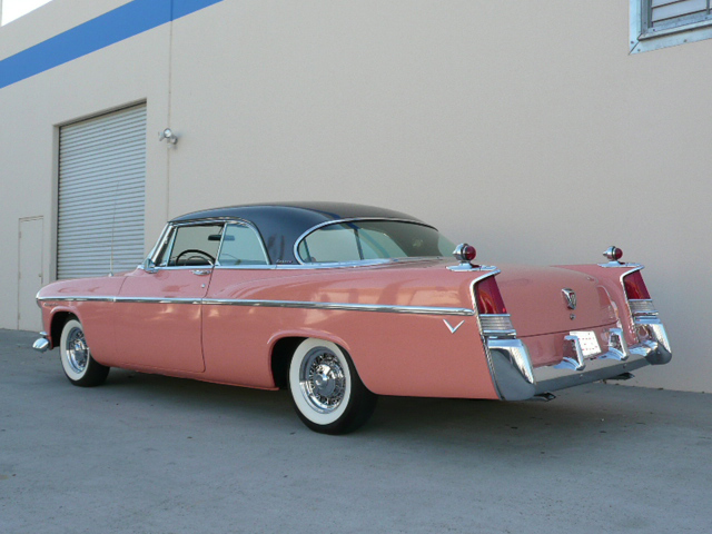 1956 CHRYSLER WINDSOR LIMITED EDITION COUPE - Rear 3/4 - 70822