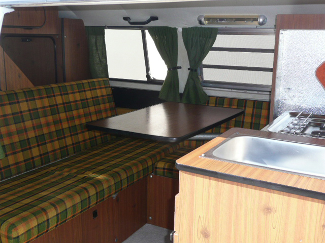 1973 volkswagen westfalia camper van 70823 for Interior westfalia