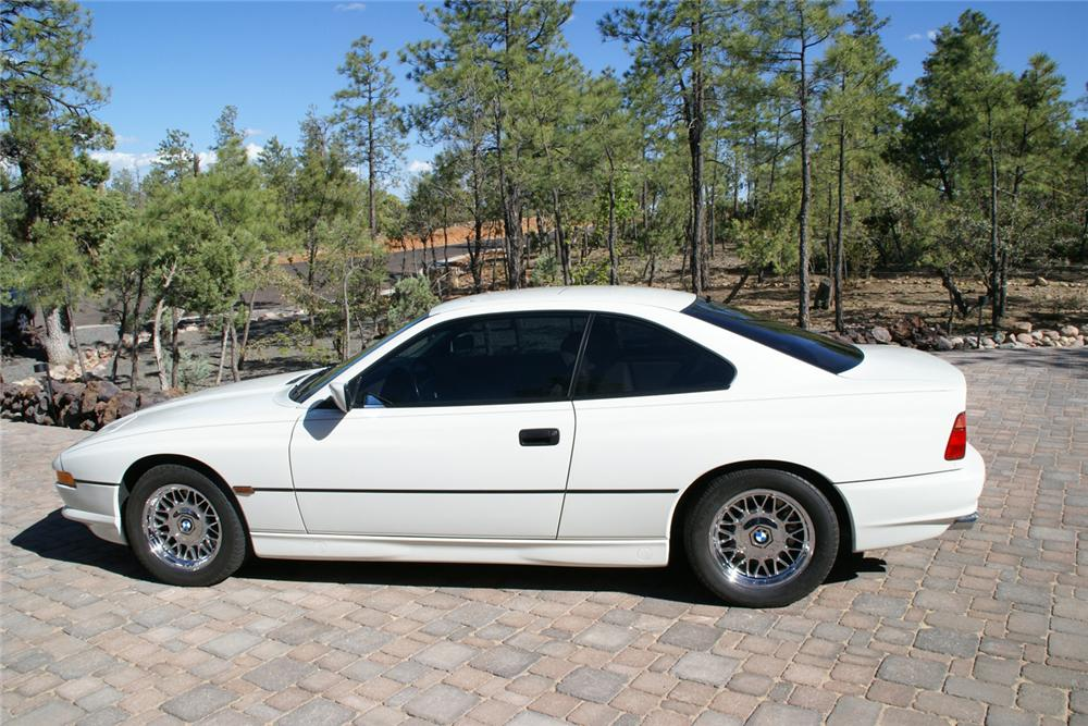 1997 BMW 850CI 2 DOOR COUPE - Side Profile - 70826