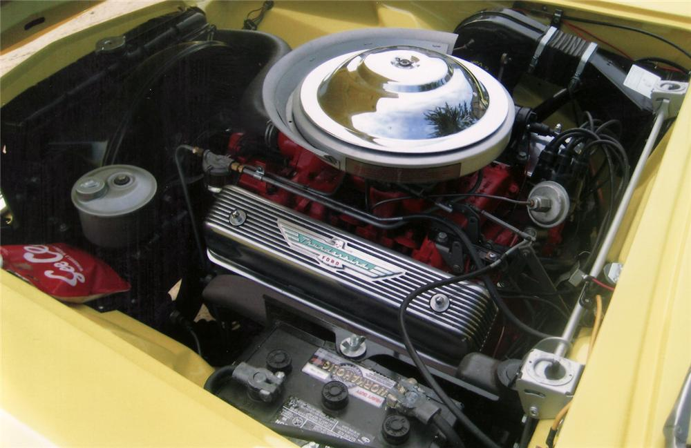 1955 FORD THUNDERBIRD CONVERTIBLE - Engine - 70828