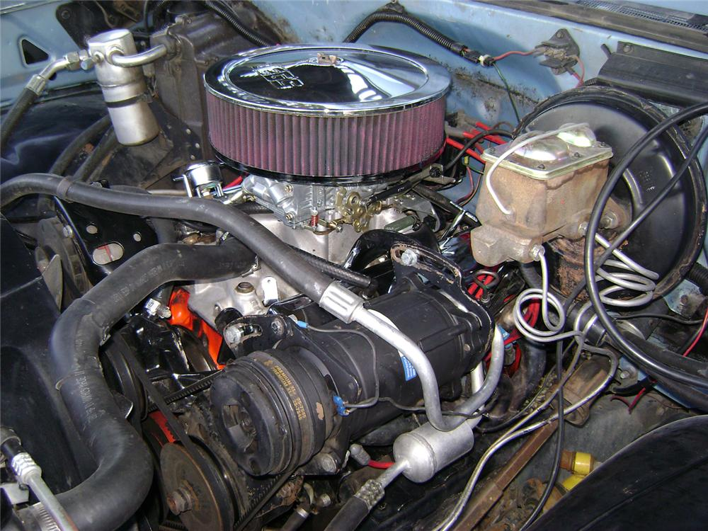 1980 CHEVROLET SHORT BED PICKUP - Engine - 70831