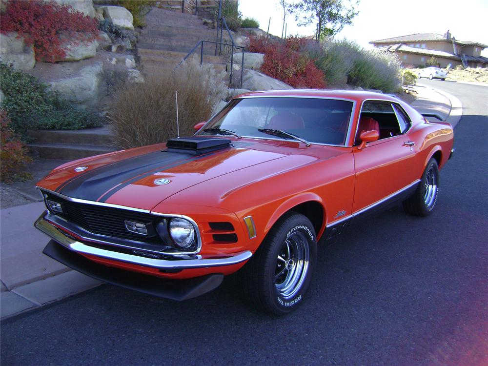 1970 ford mustang mach 1 fastback 70833. Black Bedroom Furniture Sets. Home Design Ideas