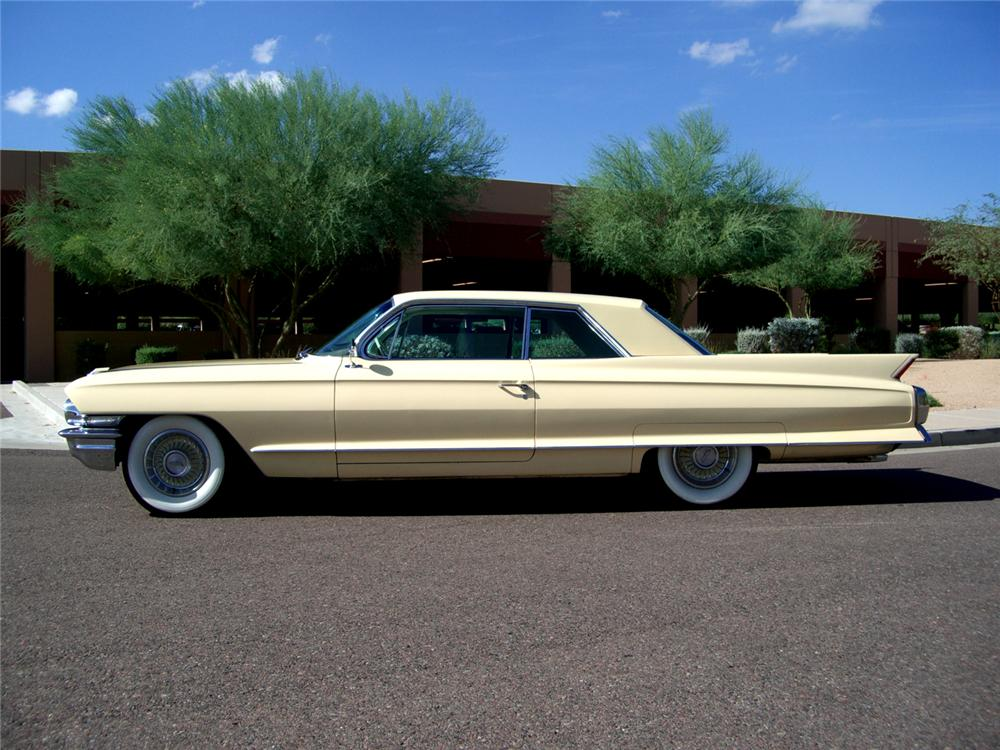 1962 CADILLAC SERIES 62 2 DOOR COUPE - Side Profile - 70836