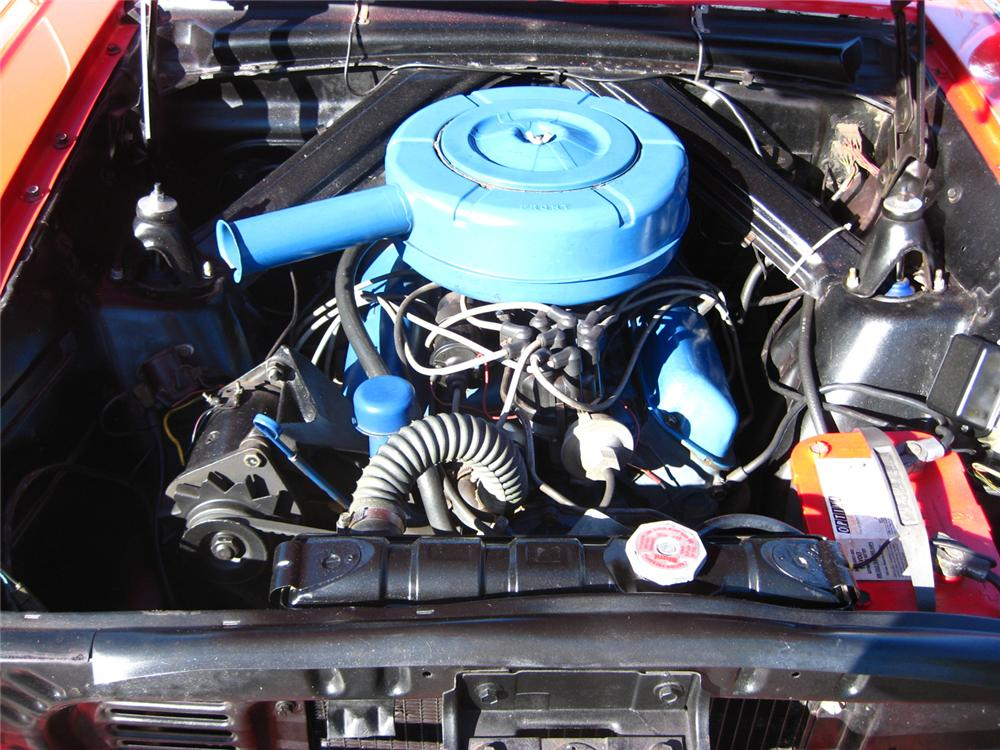1963 FORD FALCON CONVERTIBLE - Engine - 70837