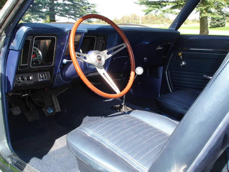 1969 CHEVROLET CAMARO Z/28 COUPE - Interior - 70844