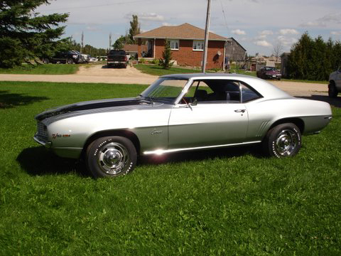 1969 CHEVROLET CAMARO Z/28 COUPE - Side Profile - 70844