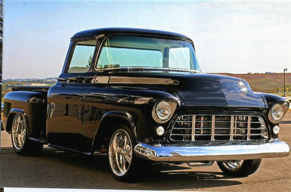 1959 CHEVROLET 3100 CUSTOM PICKUP - Front 3/4 - 70851