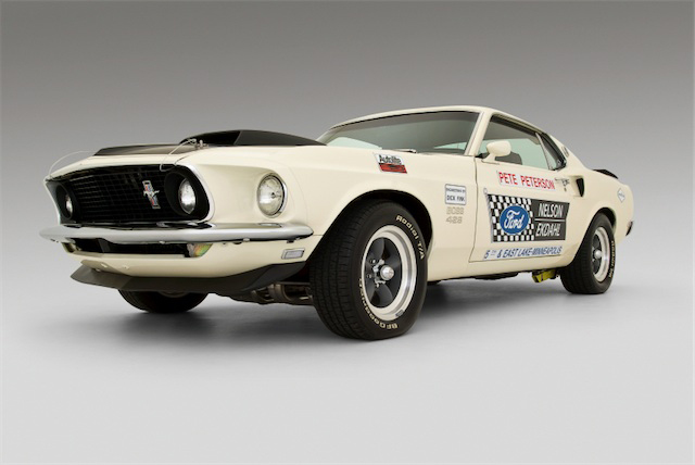 1969 FORD MUSTANG BOSS 429 FASTBACK DRAG CAR - Side Profile - 70859