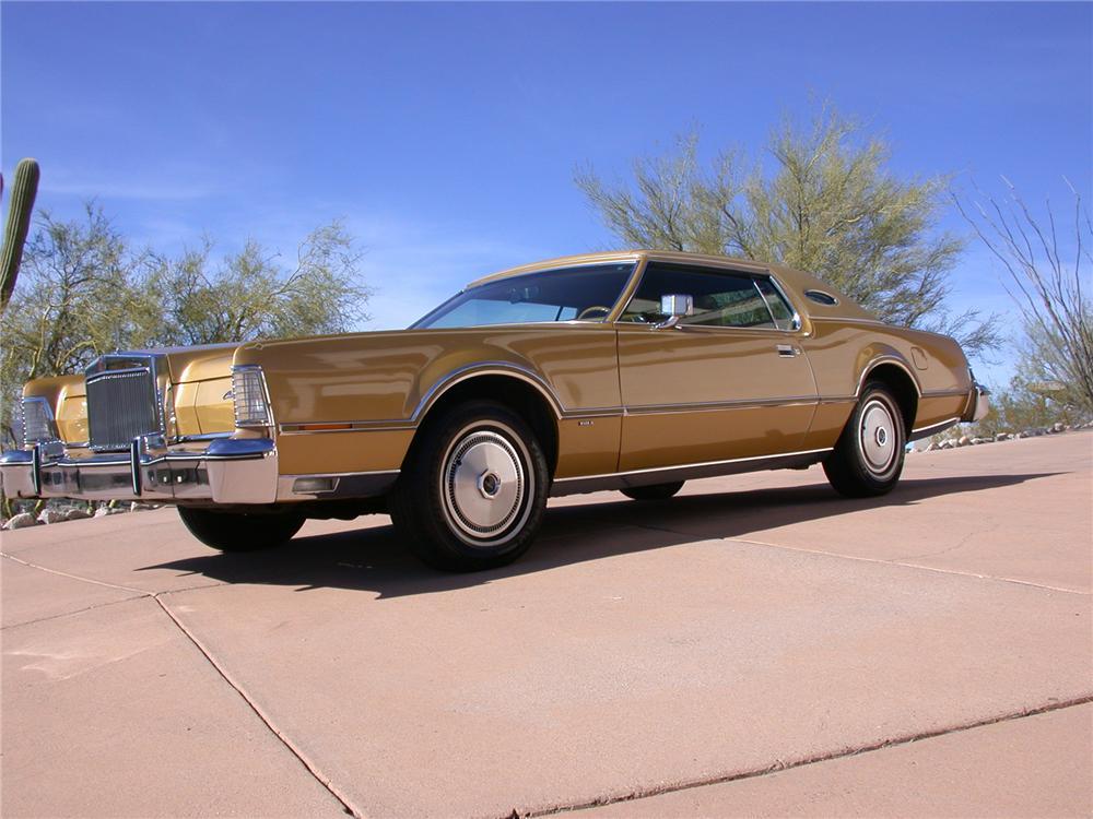 1976 LINCOLN CONTINENTAL MARK IV 2 DOOR HARDTOP - Front 3/4 - 70861