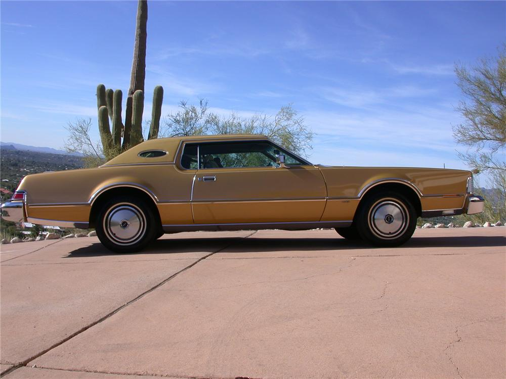 1976 Lincoln Continental Mark Iv 2 Door Hardtop 70861