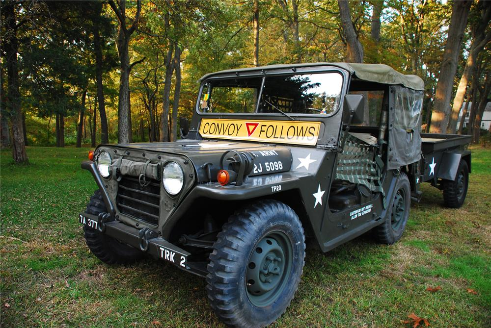 1965 JEEP M151 MILITARY 4X4 UTILITY VEHICLE - Front 3/4 - 70867