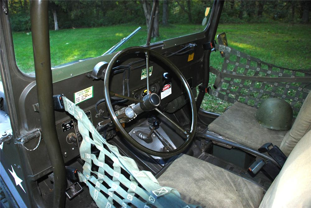 1965 JEEP M151 MILITARY 4X4 UTILITY VEHICLE - Interior - 70867