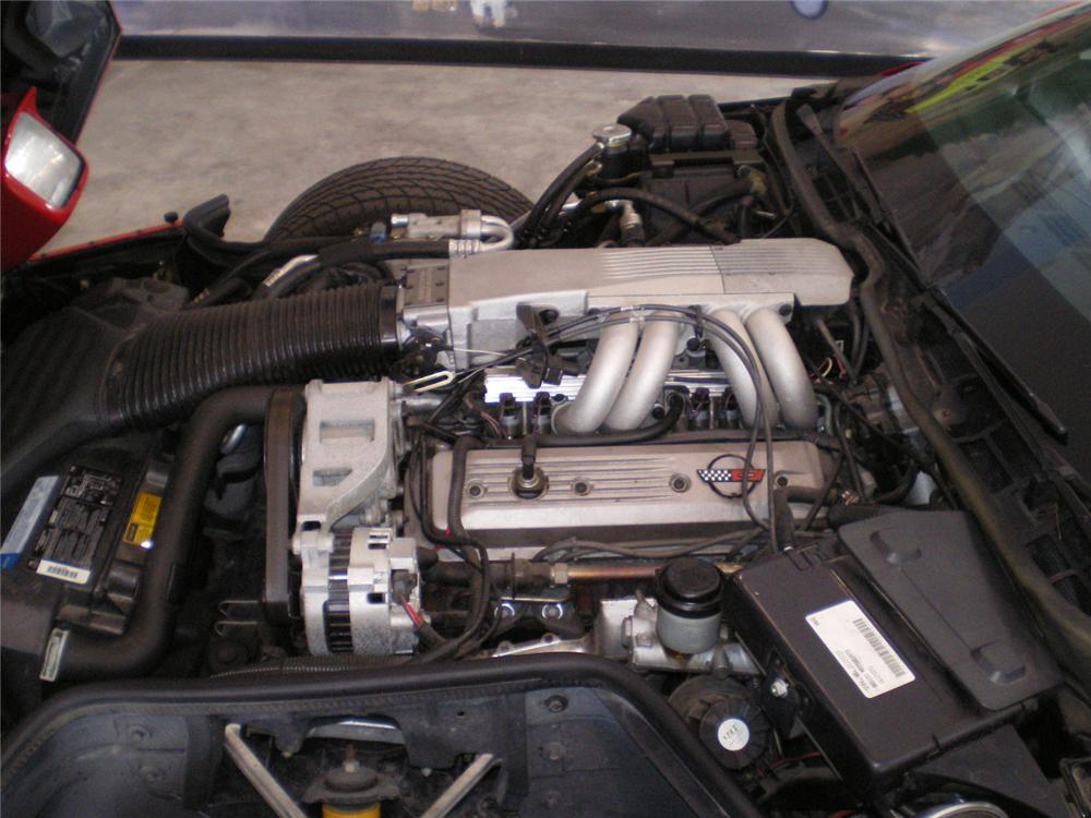 1990 CHEVROLET CORVETTE COUPE - Engine - 70873