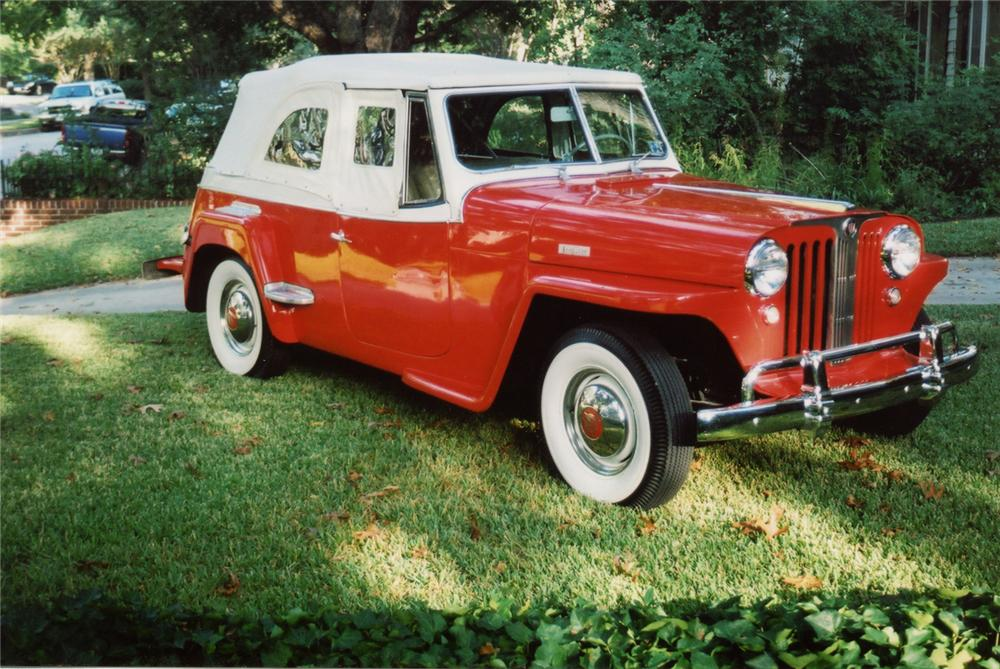 1949 WILLYS JEEPSTER CONVERTIBLE - Front 3/4 - 70878