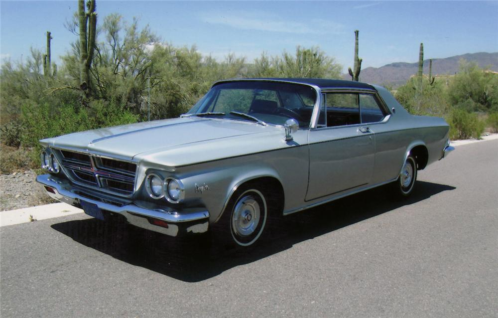 1964 CHRYSLER 300K SILVER SERIES 2 DOOR HARDTOP - Front 3/4 - 70879