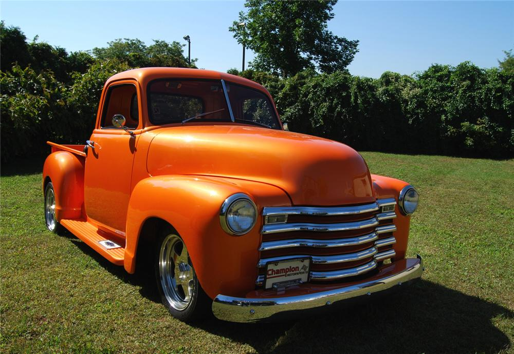 "1948 CHEVROLET PICKUP ""BOYD CODDINGTON TRIBUTE"" - Front 3/4 - 70882"