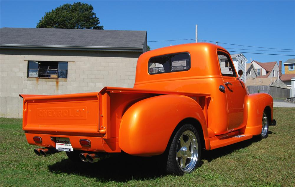 "1948 CHEVROLET PICKUP ""BOYD CODDINGTON TRIBUTE"" - Rear 3/4 - 70882"