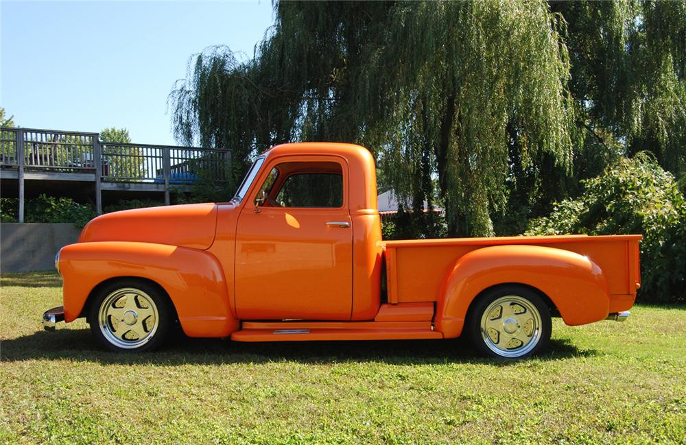 "1948 CHEVROLET PICKUP ""BOYD CODDINGTON TRIBUTE"" - Side Profile - 70882"